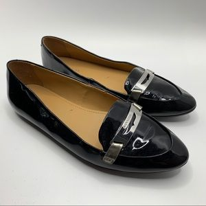 Coach Patent Leather Ruthie Loafers